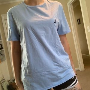 Nautica Baby Blue Performance Tee NWT